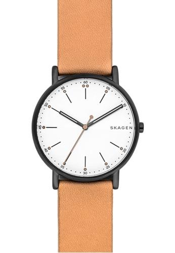 Skagen brown Skagen Signatur Brown Leather Watch SK533AC36ZTZMY_1