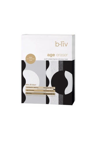 B.liv [b.liv] Age Eraser (Youth Preserving Bio-Cellulose Mask) 4pcs/box- Bliv BL848BE0RHSBMY_1