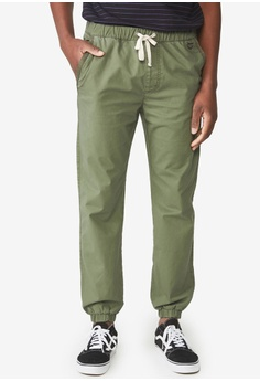 c88135e1 Cotton On green Drake Cuffed Pants 44A21AA1ED6D39GS_1