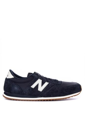 New Balance grey U420 Classic Lifestyle Sneakers 05165SHA9A82A8GS_1
