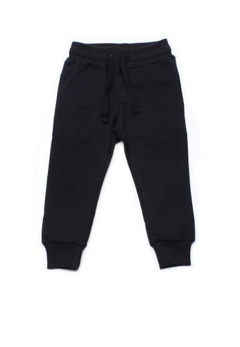 Mini Moley navy Boy's Drawstring Sweatpants CCC90KAC6A896BGS_1