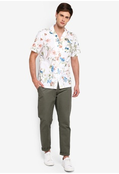 f12f708a 15% OFF River Island Floral Rev Shirt RM 189.00 NOW RM 160.90 Sizes XS S M  L XL. Only & Sons ...