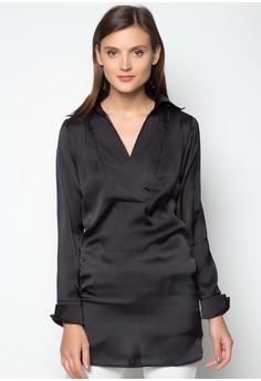 Alliyah Wide Collar Tunic