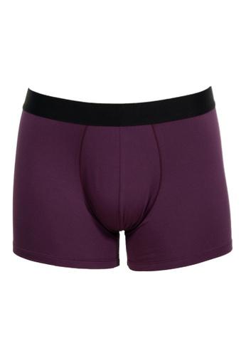 FANCIES 紫色 FANCIES 波尔多平角内裤 - I Love My Wife 3D67BUSD4B4F9FGS_1