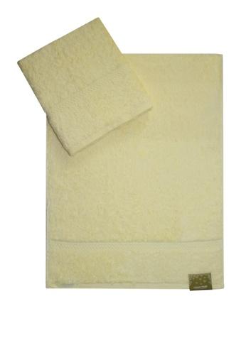 Cotton Fields yellow Cotton Fields Hand Towel Plain 551A9HL6BF14E5GS_1