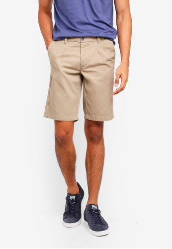 OVS brown Chino Shorts 2FE0CAA659629CGS_1
