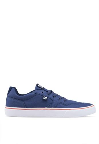 DC Shoes blue Rowlan Tx M Shoes 06A37SHF53DFB6GS_1