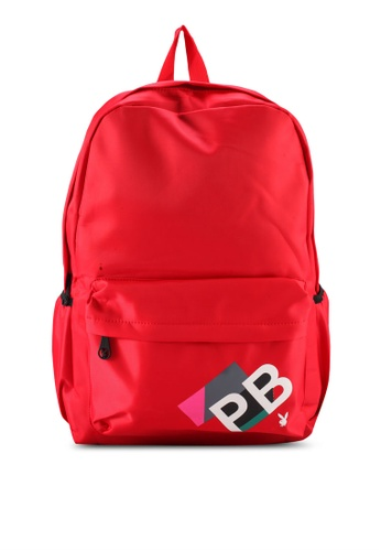 Playboy red PB Print BACKPACK E55ACACB41BEA5GS_1