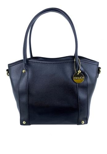 Mel&Co black Basic Satchel Bag 8F40FAC8814BEBGS_1