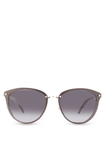 Kate Spade gold Playful Glitter Sunglasses KA433GL50HXDMY_1