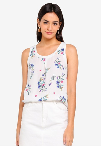 ZALORA multi Basic Tank Top With Rib Trim 5580FAAA733E20GS_1