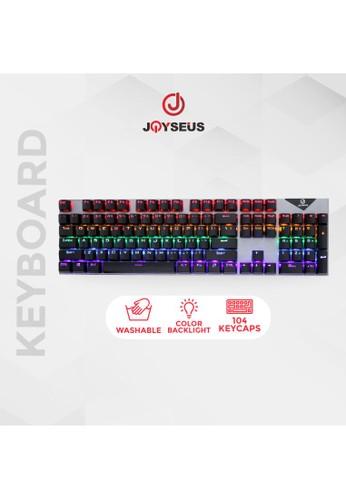 Joyseus Joyseus Keyboard mechanical komputer Gaming USB Cable RGB Tahan Air - KEY01 0CF99ES9633779GS_1