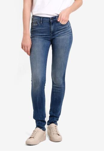 Calvin Klein blue High Rise Skinny Jeans - Calvin Klein Jeans CA221AA0REOFMY_1