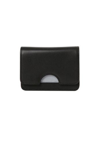 The Catalyst Store black Black Block Grey Card Holder Purse Wallet EU777AC76QHNSG_1