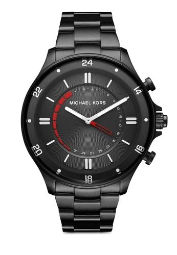 MICHAEL KORS black Michael Kors Reid Black Smart Watch MKT4015 MI165AC0SM3TMY_1
