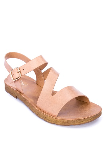 ABOUT A GIRL pink Ankle Strap Sandals 62E04SH1384EA6GS_1