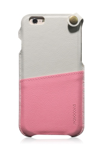 Monocozzi pink Posh Soft Leather Pouch For iPhone 6 Plus MO983AC73BWSHK_1