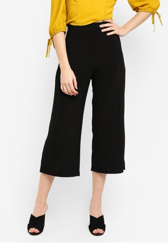 Cotton On black Marlee Luxe Culottes D66EEAA49E44FCGS_1