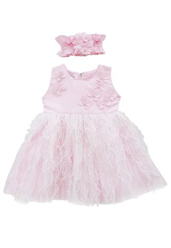 FIYORA pink Willow Party Baby Girl Dress 36CF4KA38F5393GS_1