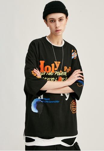 Twenty Eight Shoes Trend Printed Short T-shirt 1211S20 0C486AAF53C995GS_1
