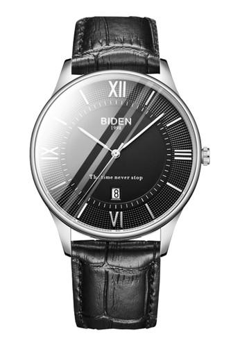 Biden Watch black Jam Tangan Pria BIDEN Design Elegan dan Eksklusif Strap Kulit Model Premium dan Waterproof GARANSI 1 TAHUN 5E7F9AC7AB6BFCGS_1