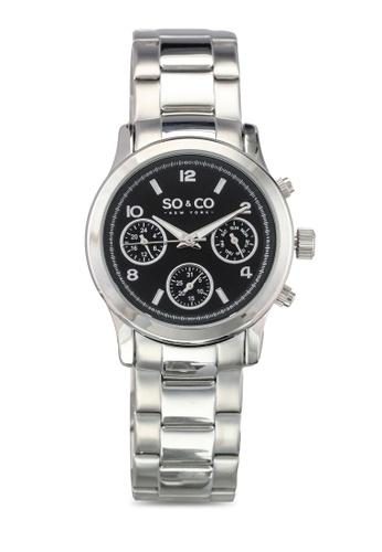 SO&CO silver Madison Watch 5012 SO540AC0SHMMMY_1