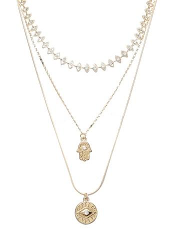 ALDO gold Legardomwen Necklace 1B51FAC4CF77C0GS_1
