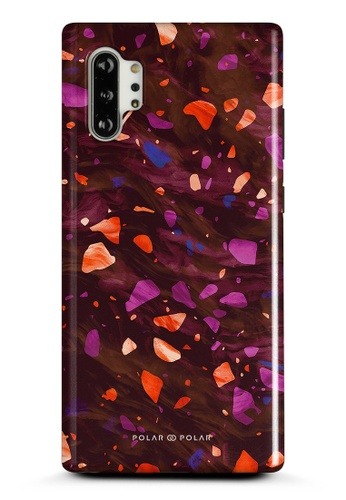 Polar Polar red Paprika Terrazzo Gem Dual-Layer Tough Case Glossy For Samsung Galaxy Note10 Plus 2C0B4AC64A6DAAGS_1