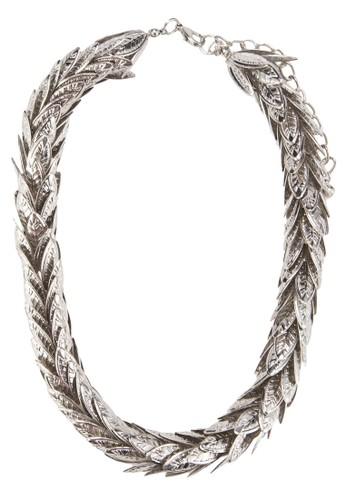 金屬葉子吊飾項鍊, 飾esprit門市地址品配件, 飾品配件