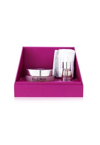 ELEMIS ELEMIS - Pro-Collagen Rose Duet: Rose Cleansing Balm 100g+ Rose Facial Oil 15ml+ Luxury Cleansing Cloth 3pcs 9EC1BBEAEB4EBAGS_1