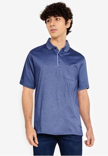 LC Waikiki blue Mercerized Polo Shirt 2EC8AAA9B216CAGS_1