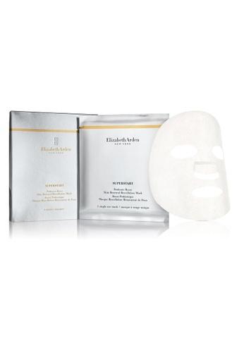 Elizabeth Arden grey SUPERSTART Probiotic Boost, Skin Renewal Biocellulose Mask box of 4 6B446BE2B428B5GS_1