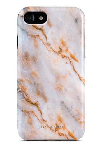 Polar Polar brown Coffee Cream Dual-Layer Tough Case Glossy For iPhone SE (2nd) / 8/7 FF114AC8B628D0GS_1