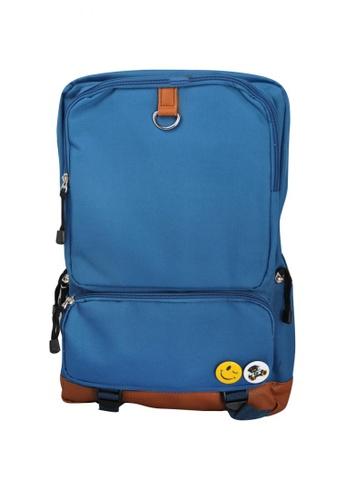 Stylebox blue Meite Boshi SX28007 Casual/School Backpack 7357CAC43EA5D4GS_1