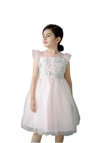 Pretty Girl Collection pink Naomie Party Pink Dress 077D8KAFCEF2FCGS_1