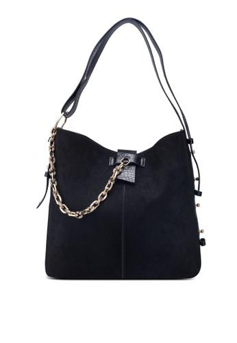 b40d5751ef8b Heidi Black Hobo Bag