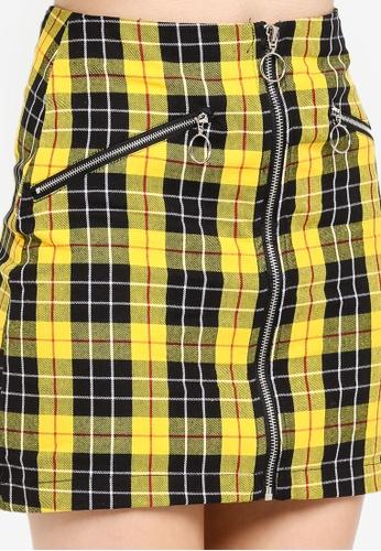 2f1bcadeb Shop Factorie Zip Front A Line Skirt Online on ZALORA Philippines