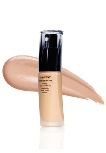 Shiseido beige SYNCHRO SKIN Lasting Liquid Foundation R2 FC84BBEA73F646GS_1