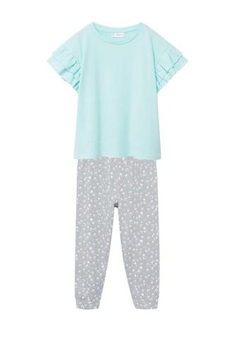 MANGO KIDS green Cotton Printed Long Pyjamas 7CF12KA135EBFDGS_1