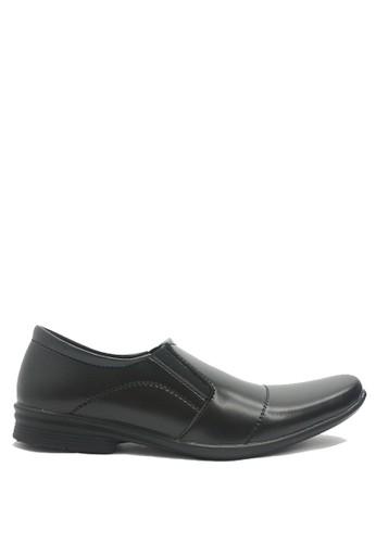 Dr. Kevin black Dr. Kevin Men Dress & Bussiness Formal Shoes 13204 - Black DR982SH03MAIID_1