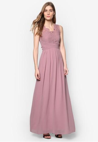 *Showcaesprit outlet 台灣se: 雙肩帶無袖蕾絲洋裝, 服飾, 洋裝