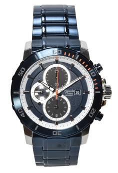 harga Alexandre Christie - Jam Tangan Pria - Silver - Blue Stainless Steel - 6473MCBTUBU Zalora.co.id