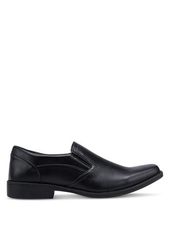 Rocklander black Formal Slip On Shoes 29F72SHF23F4CFGS_1
