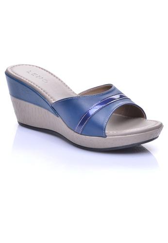 LENO blue RIKKE Slide Sandals (LS36552) LE122SH27OIIMY_1