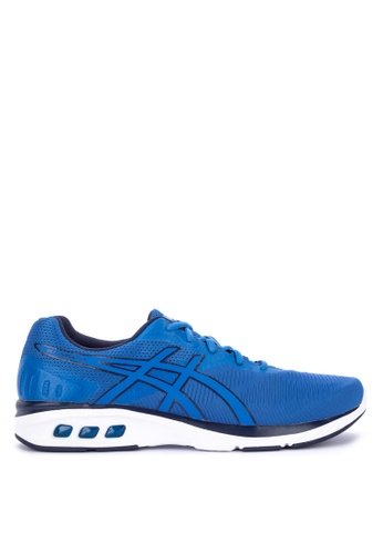 Asics blue Gel-Promesa Running Shoes 186B2SH91C9DBAGS_1