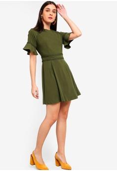 46eba3300d6 30% OFF ZALORA Raglan Sleeves Dress With Trimming S  39.90 NOW S  27.90  Sizes XS S M L XL