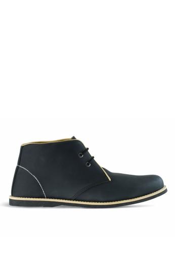 Sogno black Sepatu Boot Pria GF.5603 68A81SHC2F7887GS_1