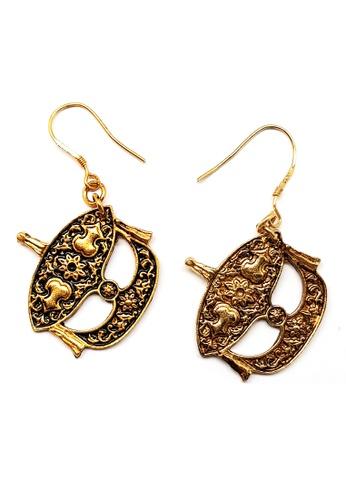 Paulini gold Earring Wau SS (AG) PA011AC58EFLMY_1