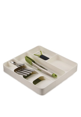 Joseph-Joseph white DrawerStore Cutlery, Utensil and Gadget Organiser 00127HLAED19C1GS_1