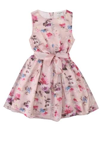 Girl Flower Pattern Dress